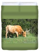Longhorn Cow Duvet Cover