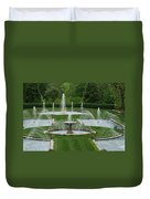 Longwood Fountains 3 Duvet Cover