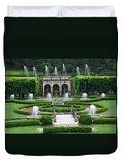 Longwood Fountains Duvet Cover