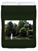 Longwood Garden Castle Duvet Cover