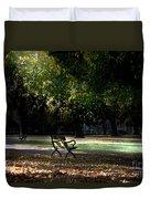 Lonley Park Bench Duvet Cover