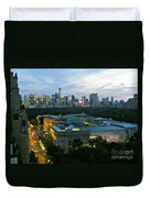 Looking South Nyc Duvet Cover