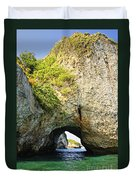 Los Arcos Park In Mexico Duvet Cover