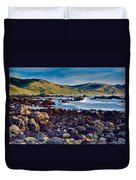 Lost Coast In Winter Duvet Cover