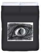 Lost In The Eye Of Your Past Duvet Cover