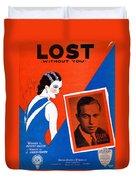 Lost Duvet Cover