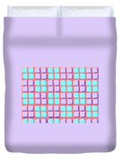 Lots Of Squares Duvet Cover