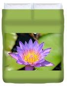 Lotus Aglow Duvet Cover