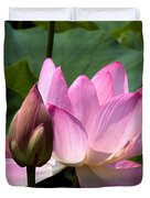 Lotus Bud--here Is How You Do It Dl065 Duvet Cover