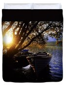 Lough Arrow, Co Sligo, Ireland Lake Duvet Cover