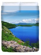Lough Caragh, Co Kerry, Ireland Duvet Cover