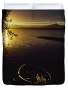Lough Leane, Lakes Of Killarney Duvet Cover