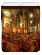 Loughborough Church Pews Duvet Cover