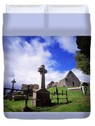 Loughinisland, Co. Down, Ireland Duvet Cover