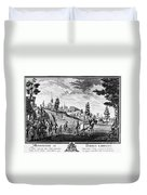 Louis, Dauphin Of France Duvet Cover