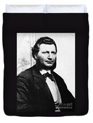 Louis Riel Duvet Cover