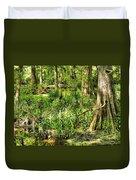 Louisiana Wetland Duvet Cover