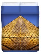 Louvre Pyramid Duvet Cover