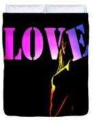 Love And Shadows Duvet Cover
