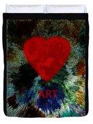 Love Art 3 Duvet Cover