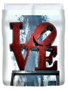 Love In The Afternoon Duvet Cover