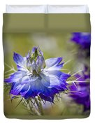 Love In The Mist - Nigella Duvet Cover