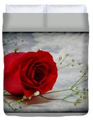 Love Is Everlasting Duvet Cover