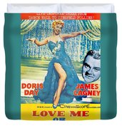 Love Me Or Leave Me Duvet Cover by Georgia Fowler