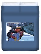 Love Of A Sailor Duvet Cover