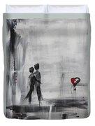 Love Story 1 Duvet Cover