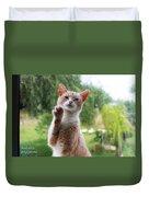 Lovely Cat Duvet Cover