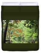 Loving The Season Of Autumn Duvet Cover
