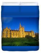 Low Angle View Of A Building, Magee Duvet Cover