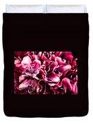 Low Key Pink Azalea Duvet Cover