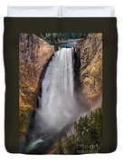 Lower Falls II Duvet Cover