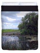 Lower Klamath Wildlife Refuge Duvet Cover