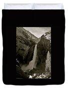 Lower Yosemite Falls Duvet Cover
