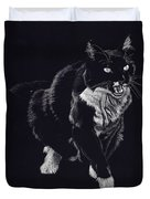 Lucy The Cat Duvet Cover