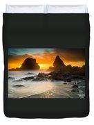 Luffenholtz Winter Sunset 1 Duvet Cover