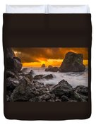 Luffenholtz Winter Sunset 2 Duvet Cover
