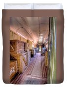 Luggage Car Duvet Cover