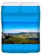 Luggala And Lough Tay, Co Wicklow Duvet Cover
