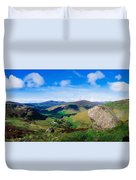 Luggala, Co Wicklow, Ireland Duvet Cover