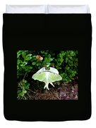 Luna Moths' Afternoon Delight Duvet Cover