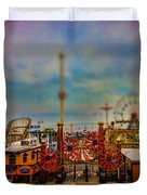 Luna Park-a-rama Duvet Cover