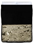 Lunar Surface Duvet Cover by Science Source