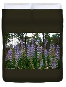 Lupine Patch Duvet Cover