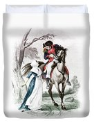 Lydia Darragh, American Patriot Duvet Cover by Photo Researchers