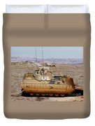 M2 Bradley Fighting Vehicle Duvet Cover