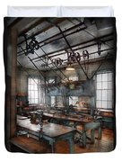 Machinist - Steampunk - The Contraption Room Duvet Cover